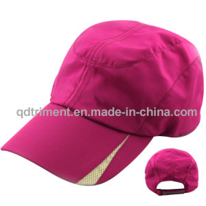 Popular Microfiber Polyester Fabric Mesh Racing Sport Cap (TRNR085) pictures & photos