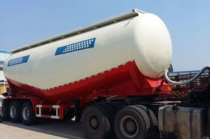 45 Cube-Meters Lightweight Cement Silo Semi Trailer