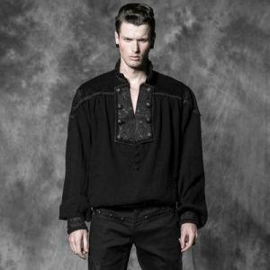 China Supplier Unique Design Decadent Gothic Shirts Blouser (Y-513) pictures & photos