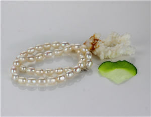 9mm Grade a Snh Real 925silver Pearl Set pictures & photos