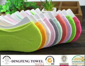 Nature Bamboo Anti-Bacterial Itch Free Ankle Ladies Sock pictures & photos