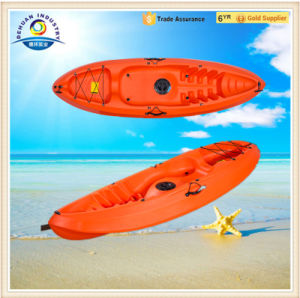 Dh-Gk17 River Canoe with Fishing Rod Holder