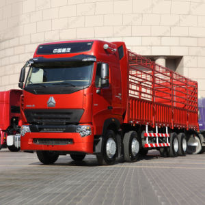 Sinotruk HOWO A7 8X4 Cargo/Stake Truck for Sale pictures & photos
