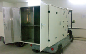 Electric Hotel Housekeeping Cart pictures & photos