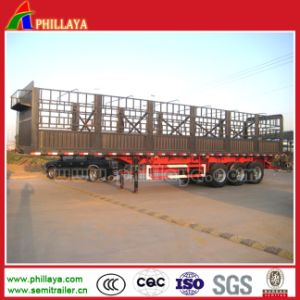 3 Axles Livestock Trailer for Cargo Animals Transportation pictures & photos