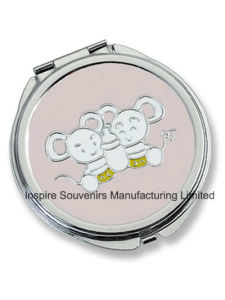 Lovely Mouse Pocket Mirror for Gift (MX108E) pictures & photos