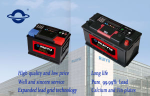 12V Maintenance Free Lead Acid Battery for Car and Trucks pictures & photos