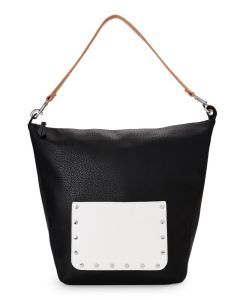 Black & White Hobo Bag Ladies PU Leather Fashion Designer Handbags pictures & photos