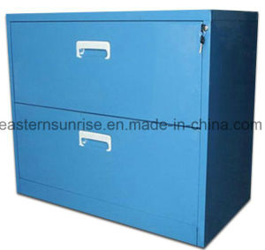 Low Price Office Use Two Drawer Metal Steel Iron Cabinet pictures & photos