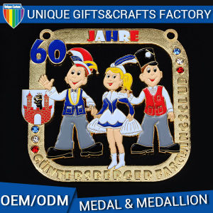 2016 New Design China Factory Medals with Ribbon Medallion pictures & photos
