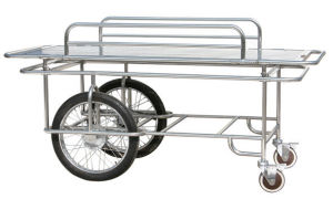 Cg-07104 Hospital Stainless Patient Transfer Stretcher Trolley