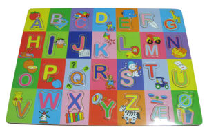Wooden Alphabets Letters Puzzle Toys (33282) pictures & photos