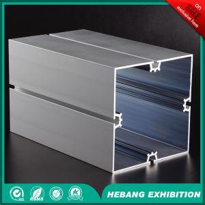 Aluminum Prices Exhibition 12cm 4 Slot Square Aluminum Column pictures & photos