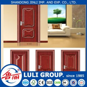 Alibaba Hot Selling 6 Panel Wood Door Skin for Bedroom Industry-Leading Factory Yb Wood Free pictures & photos