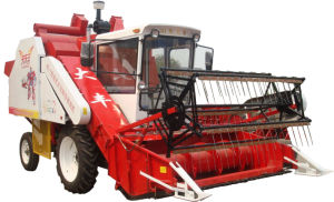 Agricultural Combine Soybean Harvester (4L-1.0) pictures & photos