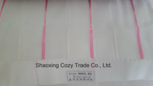 New Popular Project Stripe Organza Voile Sheer Curtain Fabric 008285 pictures & photos