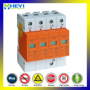 420V 30ka 4pole Chinese Surge Arrester Price Surge Protection Device pictures & photos