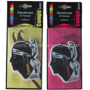 Custom High Quality Paper Car Air Freshener with Long Lasting Fragrance pictures & photos