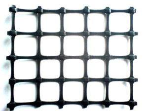 Biaxial Polymer Mining Geogrid for False Roof Supporting pictures & photos