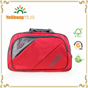 High Quality Customizable 600d Polyester Waterproof Weekend Cheap Travel Luggage Bag pictures & photos