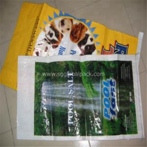 25kg PP Woven Animal Feed Sack pictures & photos