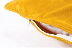 Microfiber Fleece Silicon Fiber Hollow Filling Zipper Cushion