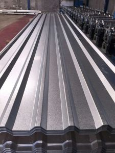 Corrugated Galvalume Steel Roofing Sheet G550 pictures & photos