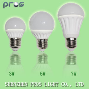 E27 Ceramic 5W LED Light/Bulb Replace 60W Traditional Bulb pictures & photos