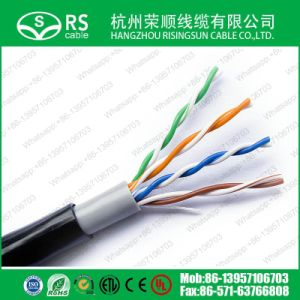 Cat5e UTP Outdoor Network LAN Cable with Double Jacket