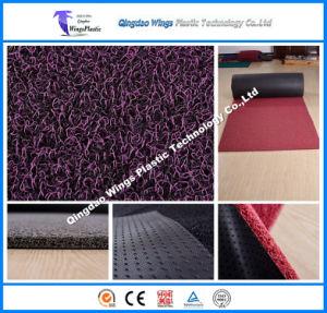 Newest Double Color Stripe PVC Rubber Coil Mat pictures & photos