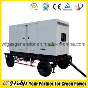 portable Diesel Generator (HL-D03) with Soundproof Canopy pictures & photos