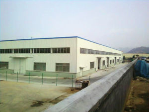 Galvanized Prefabricated Steel Frame Workshop (Steel Structure House) pictures & photos