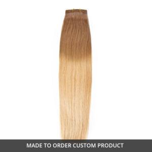 Ombre Color European Virgin Remy Human Hair Weaving pictures & photos