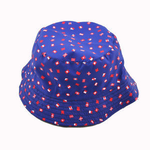 Fashion Lady Bucket Caps with Different Flower Fabric Customized (HKA06-A00003) pictures & photos