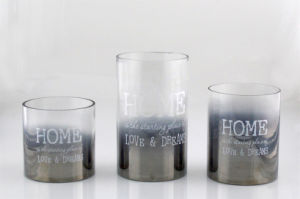 Plating Cylindrical Candle Holder pictures & photos