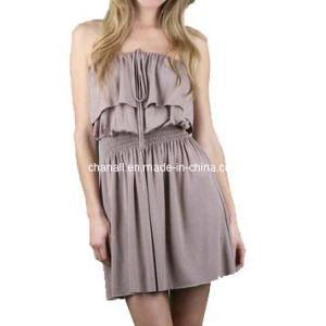 Lady Fashion Evening Dress
