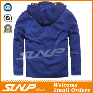 Casual Oversize Hooded Blue Clothes for Men