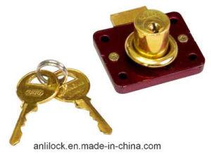 808 Drawer Lock, Furniture Lock, Brass Drawer Lock Al-808 pictures & photos