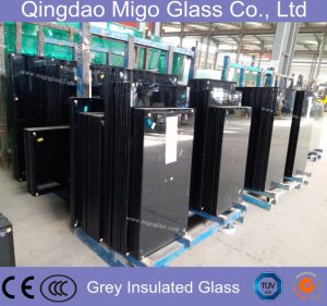 Tempered Grey Insulated Hollow Glass for Building Windows and Doors pictures & photos