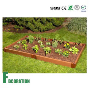 Beautiful Kitchen Garden - Black WPC Raised Beds Planter pictures & photos