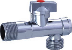 Nickle Plated Angle Valve with Zinc Handle (YD-5035) pictures & photos