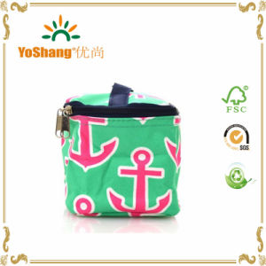 China Wholesale New Design Cotton Fashion Travel Cosmetic Bag pictures & photos