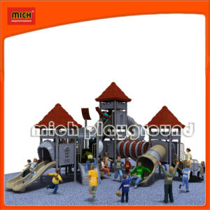 Certified Funny Children Outdoor Playground with Slide (5220A) pictures & photos