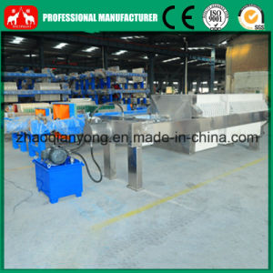 Stainless Steel Plate and Frame Cooking Oil Filter Press Machine pictures & photos