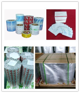 Medicine Used Laminated Aluminum Foil Paper pictures & photos