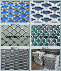 Decorative Aluminum Expanded Metal Mesh Panels (MB-001) pictures & photos