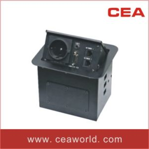 Desktop Socket / Table Socket (UK / European/Australian/ Universal type) pictures & photos