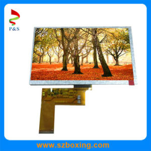 P&S 7inch TFT LCD Modules with 50pins, 400CD/M2 Brightness pictures & photos