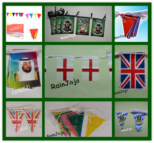 Bunting Flag / String Flag for Decoration, Advertising, Promotion pictures & photos