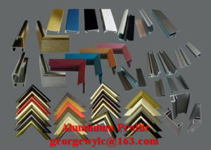 6061 6063 Extruded Aluminum Profile for Building and Furniture pictures & photos